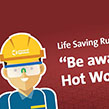 Life Saving Rules: Hot Work Implemented